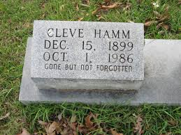"""Dewey Cleveland """"Cleve"""" Hamm (1899-1986) - Find A Grave Memorial"""