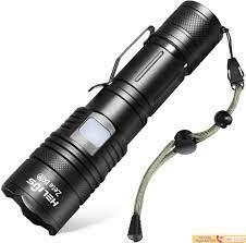 Đèn pin siêu sáng japan đèn pin đạt tiêu chuẩn quân đội Nhật ánh sáng xa  chống nước và chống va đập