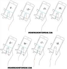 Mostlyguystock Rhpinterestcom How To Draw A Hand Iphone In Easy