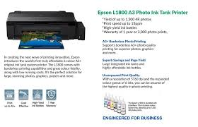 The epson l1800 is one of the most popular and affordable printers, build and easy to use. Epson Nepal Posts Facebook