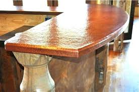 hammered copper countertops hammered copper with copper paint unconventional hammered s to prepare perfect hammered copper