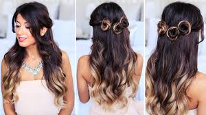 Luxy Hair Style romantic prom hairstyle collab with simply sona youtube 8272 by wearticles.com