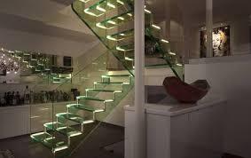 innovative all glass stair design
