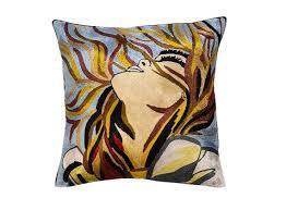 picasso symphony art throw pillow cover