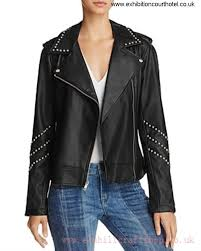 bb dakota jerilyn site studded faux leather moto jacket black black women s jackets 43uq6283 adeortuwx9