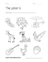 alphabet and sounds worksheets
