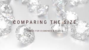 Actual Pearl Size Chart How Will It Look Diamond Carat Pearl Size Charts