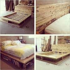 Custom Bookcase bed Handmade with Recycled timber sleepers and Pallet  timbers