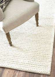 chunky braided rug best rugs images on pottery barn carpets and cottage chunky braided rug