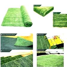 grass area rug artificial natural rugs indoor outdoor home