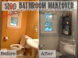 Small Picture Two It Yourself REVEAL 100 Small Bathroom Makeover Tons of