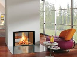 free standing contemporary electric fireplace modern stand alone fireplace