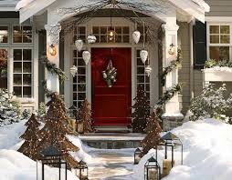 ... Front Porch Decor Continued Outdoor Porch Decor Best Christmas Porch  Decorating Ideas 22 ...