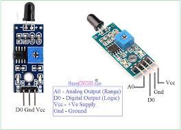 arduino flame sensor interface flame sensor