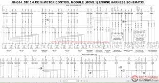 mcm wiring diagram condition monitoring system lifecheck acirc reg detroit wiring diagrams auto repair manual forum heavy series 60 ddec v engine harness and vehicle