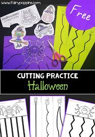 Halloween Cutting Practice | Fairy Poppins