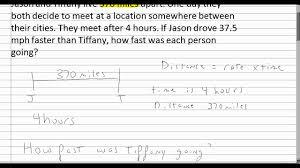 systems of linear equations word problem 3