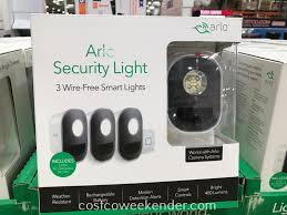 Ring Security Light Costco Arlo Smart Security Lights 3 Pack Costco Weekender