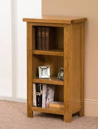 narrow low bookcase
