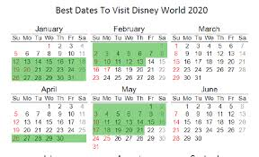 The Best Time To Go To Disney World In 2020 Free Printable