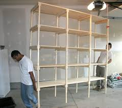 the whole shelf is an impressively large unit considering the small pile of lumber we started out with its a full 8 foot 2 4 meters high and long