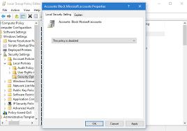 my microsoft account windows 10 solved