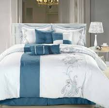ralph lauren blue and white comforter set twin sets tags 15