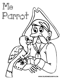 Printable Coloring Pages pirate coloring pages free : Scurvy Pirate Coloring Pages | Pirates |Pirate Costume | Free ...