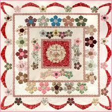 175 best SUE DALEY QUILTS images on Pinterest | English paper ... & Desert Rose English Paper Piecing & Applique Quilt Pattern by Sue Daley Adamdwight.com