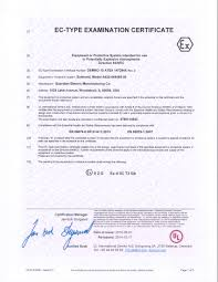 Guardian Electric Manufacturing Certifications