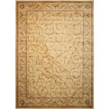 nourison somerset ivory indoor area rug common 9 x 13 actual 9 5