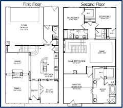 small simple two story house plans homes zone with mother in law suite for ranch home designs floor 13 super