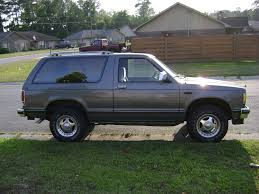 gspkak 1989 Chevrolet S10 Blazer Specs, Photos, Modification Info ...