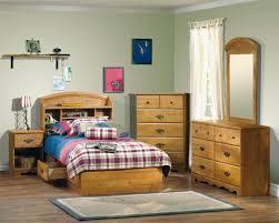 Kids Bedroom Furniture Sets For Boys White Table Lamp Above Black ...