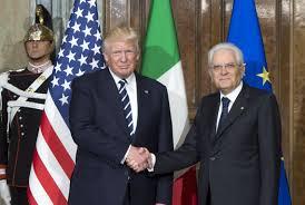 Il Presidente Mattarella in visita negli Stati Uniti d ...