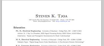 Github - Stevetjoa/cv: My Curriculum Vitae In Latex.
