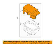 electrical fuse box cover ebay 2009 2011 Buick Lucerne Cadillac Dts Electrical Fuse Box Upper mazda oem 03 08 6 electrical fuse relay box upper cover gk2a66762