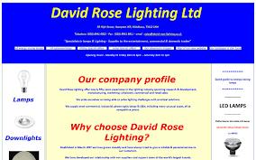 David Rose Lighting David Rose Lighting Ltd East Sussex Tw12 1nh
