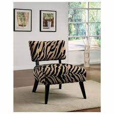 Printed Chairs Living Room Modern Navy Blue Accent Chair Creative Chair Designs Creative