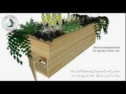 self watering garden bed. Simple Bed Self Watering Square Foot Garden In Watering Garden Bed U