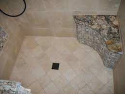 travertine tile shower floor. Beautiful Travertine Onyx Mosaic And Granite Shower Seat With Travertine Tile Floor On Travertine Tile Shower Floor A