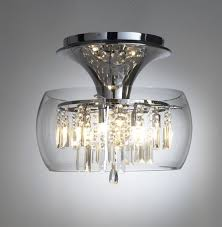 ... Contemporary Ceiling Lights Polished Chrome Finish White Opal Glass  Diffuser Uses One 60w E27 Lamp Rated ...