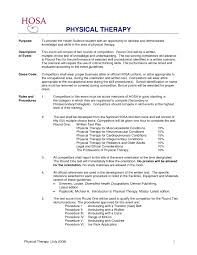 Physical Therapy Internship Resume Awesome Collection Sample Pta