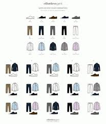 Mens Guide To Perfect Pant Shirt Combination Color