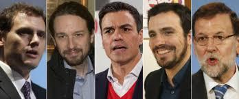 Resultado de imagen de campaña electoral españa 2015