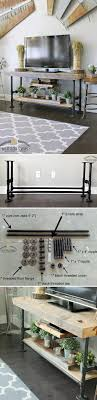 Best 25+ Industrial tv stand ideas on Pinterest | Tv table stand, Rustic  wood tv stand and Tv console tables