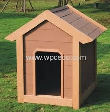 kennel recyclable wpc outdoor pet house for dogs
