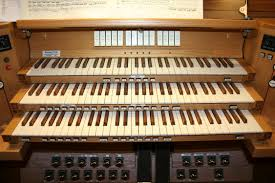Organ Console Lights St John Lutheran Church Dublin Oh 3 42 Casavant Organ
