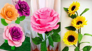 Paper Flower Craft Ideas Origami Easy Paper Flower L Very Easy To Make L Paper Craft Ideas L 2018