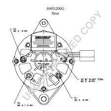 8ar3200g rear dim drawing